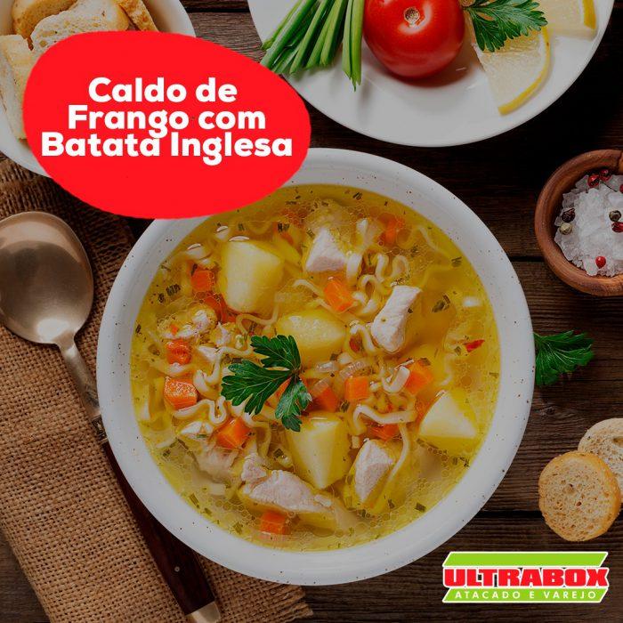 1 CALDO DE FRANGO COM BATATA INGLESA